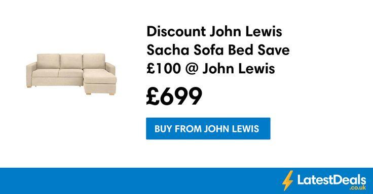 Discount John Lewis Sacha Sofa Bed Save £100 @ John Lewis, £699 at John Lewis