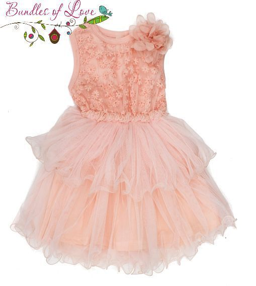 Bundles of Love - Girls Tutu Dress Vintage Flower Peach - Size 4, $22.00 (http://www.bundlesoflove.com.au/girls-tutu-dress-vintage-flower-peach-size-4/)
