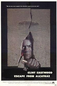 Escape from Alcatraz is a 1979 American prison film, directed by Don Siegel and starring Clint Eastwood. It dramatizes possibly the only successful escape attempt from the maximum security prison on Alcatraz Island. The film co-stars Fred Ward and also features Patrick McGoohan as the suspicious, vindictive warden; it also features the film debut of Danny Glover. The film marks the fifth and final collaboration between Siegel and Eastwood.