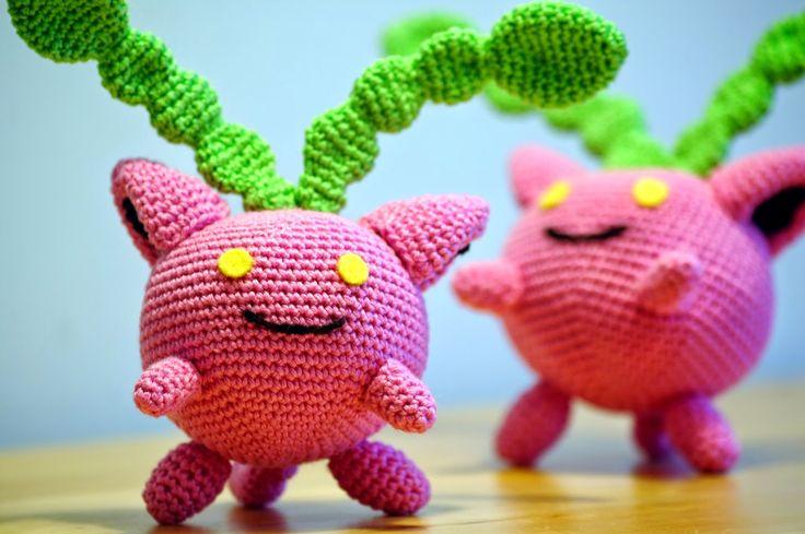 Hoppip (Pokemon) 16cm Tall - Free Amigurumi Crochet ...