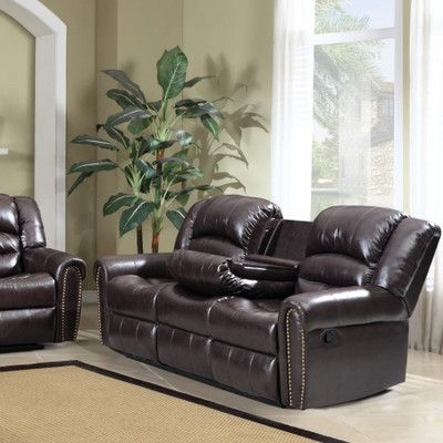 All Price Range Available For The Meridian Furniture USA Nailhead Reclining Sofa Shop Online Now