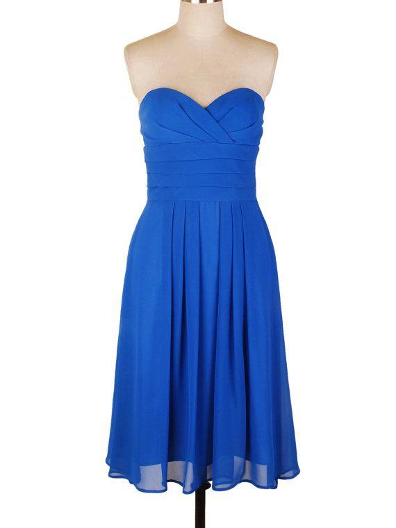 Exquisite Royal Blue dress