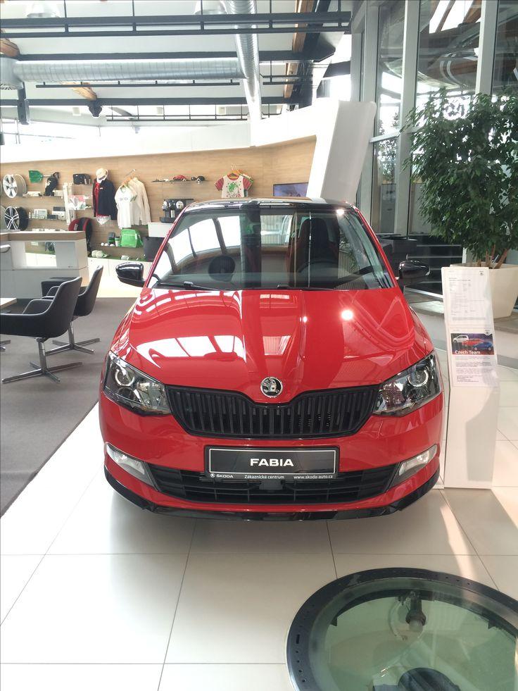 Mijn toekomstige auto. Skoda Fabia Monte Carlo