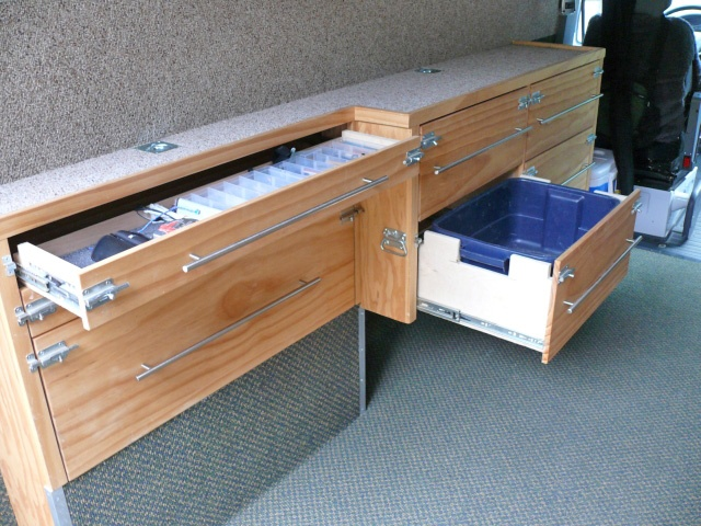 Innovative Drawer Unit For Gull Wing Toolboxes  Industrial Hardware Camper