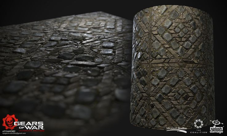 Cobblestone floors textures, Ayi Sanchez on ArtStation at https://www.artstation.com/artwork/YG3bV