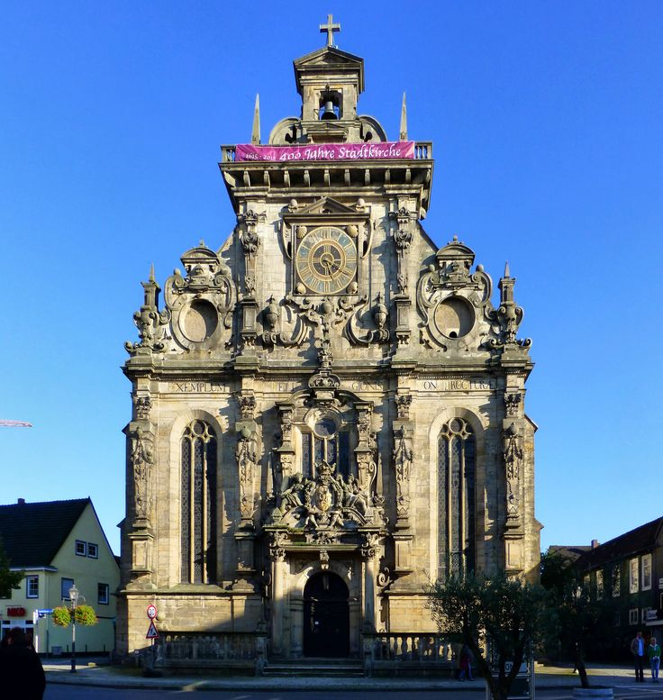 Stadtkirche, Bückeburg, 1610-15, Germany. probably designed by Hans Wulff