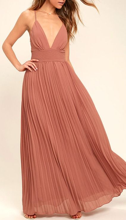 25 Best Ideas About Dusty Rose Dress On Pinterest Gold