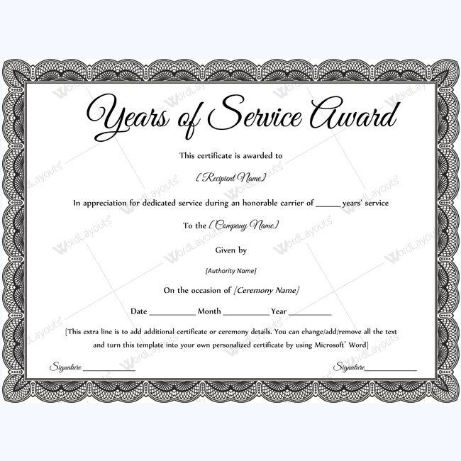Sample Award Certificates Welldone Award Certificate Template - award certificate template