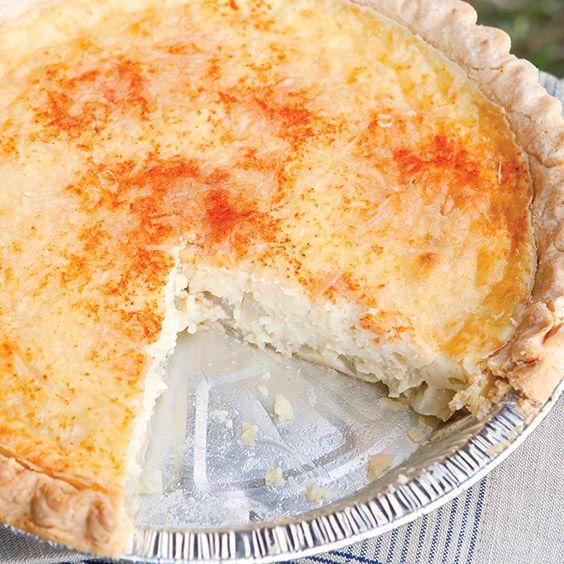 Vidalia Onion Pie Recipe - Cooking with Paula Deen