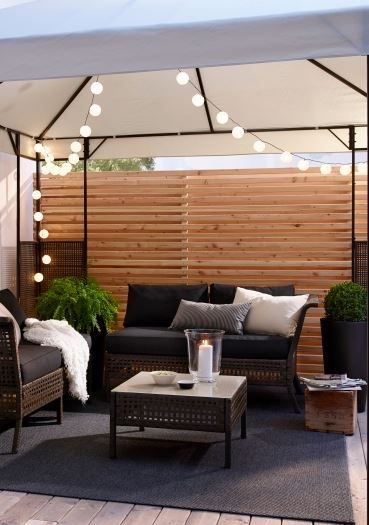 Master outdoor entertaining with these outdoor furnishings by ensuring enough shade, seating, lighting and more, says @Luluthebaker. Check out her @IKEAUSA picks to achieve the best backyard party setup ever. #sponsored