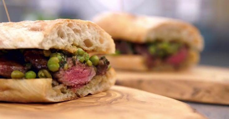Marcus's Hot Lamb Sandwich recipe – MasterChef: The Professionals skills test   Marcus Wareing Restaurants