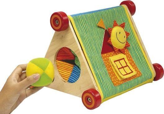 I´M Toy Baby Spielstation ab 6 Monaten zum Greifen,Tasten, Motorikschleife, Kinderspiegel | 9727 / EAN:08850714170108