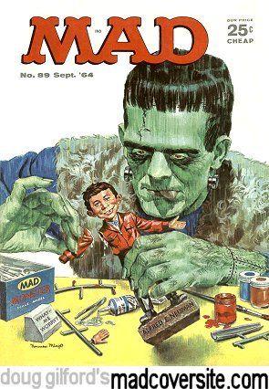 Mad Magazine No. 89 by Norman Mingo [©1964]