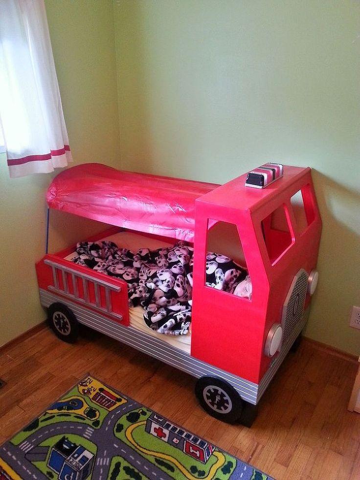 Best 25 truck toddler bed ideas on pinterest fire truck beds kids truck bed and truck bed - Kids dump truck bed ...