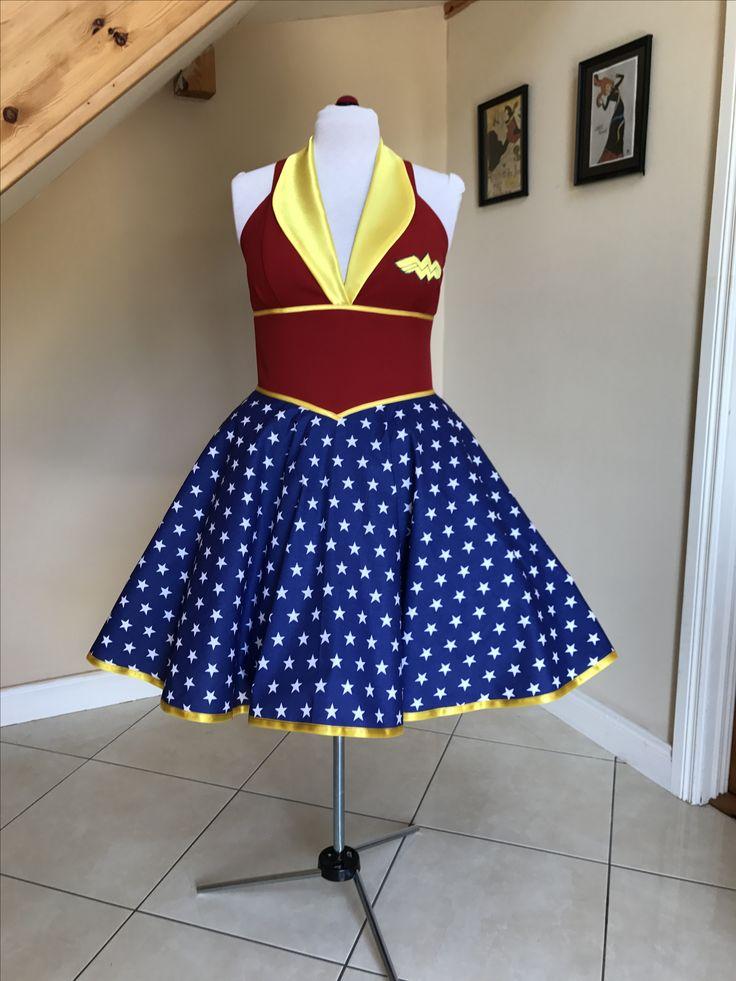 Wonder Woman dress BeBaGo collection ☄️ https://www.etsy.com/ie/shop/BeBaGo?ref=seller-platform-mcnav