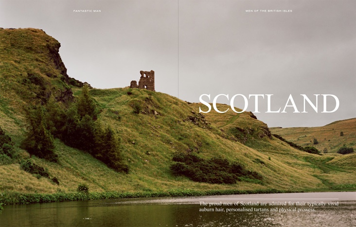 Scotland / Fantastic Man Issue 16