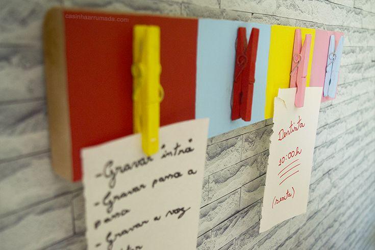 DIY – Ideias FÁCEIS e BARATAS de organização para o home office