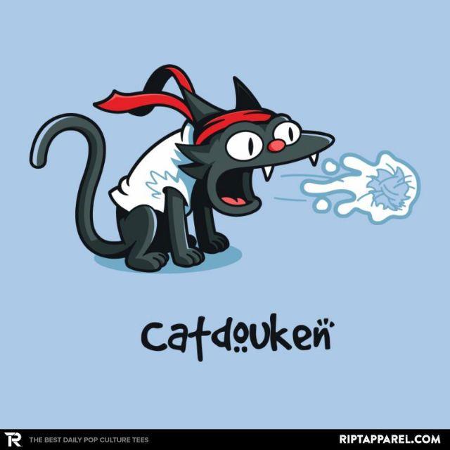 Catdouken T-Shirt - Street Fighter T-Shirt is $13 today at Ript!