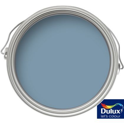 For Front Door.  Dulux Weathershield Multi Surface Quick Dry Satin Vast Lake - 750ml
