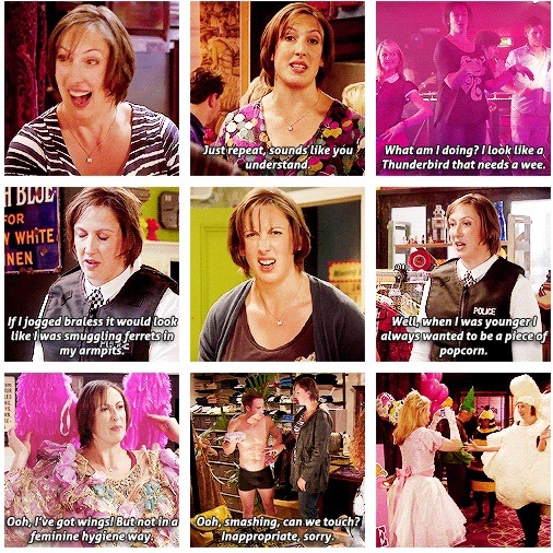 Miranda memory montage! >> Love this show!