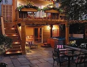 Second Floor Deck With Stairs Back Yard Front Yard Pinterest