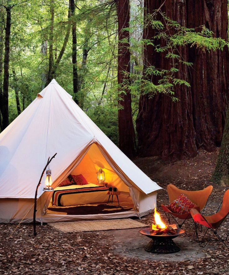 Shelter Co Big Basin Redwood camping in Sunset magazine, May 2014