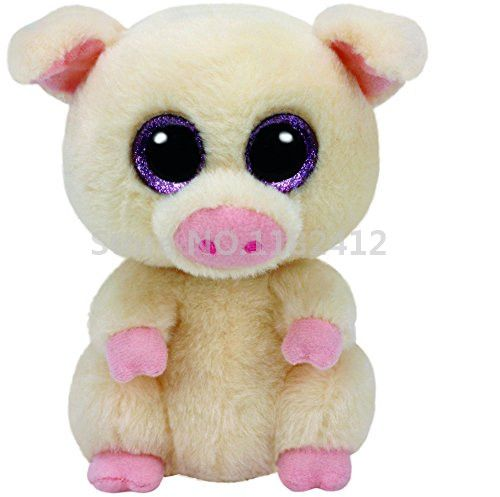 Cheap toy holder, Buy Quality toy boy directly from China toy funny Suppliers: Beanie Boos Piggley the Pig Plush Animals 6'' 15CM Cute Stuffed Animals Big Eyes Soft Toys for Children Baby Kids Gifts