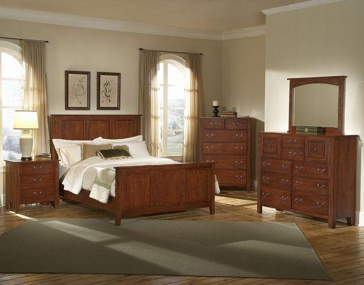 Appalachian Hardwood Bedroom Set | Furniture World Galleries: A Furniture  And Mattress Store Serving Paducah