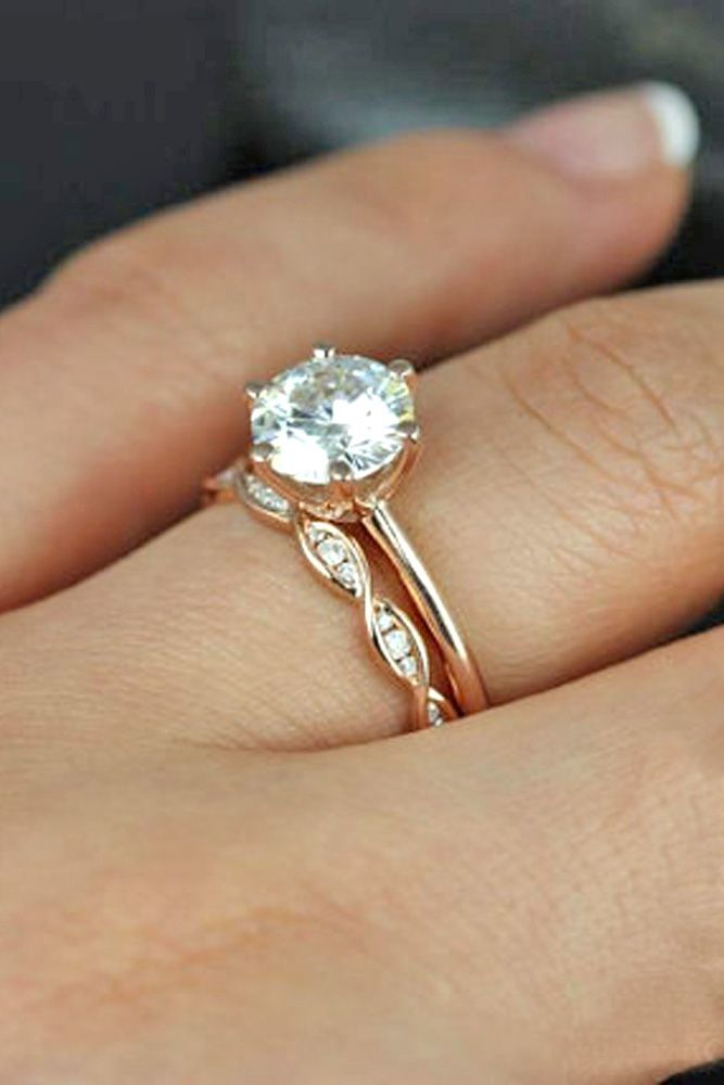 27 simple engagement rings for girls who loves classics