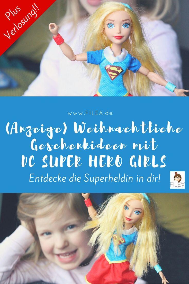 (Anzeige) Weihnachtliche Geschenkideen mit Warner Bros und den DC SUPER HERO GIRLS.