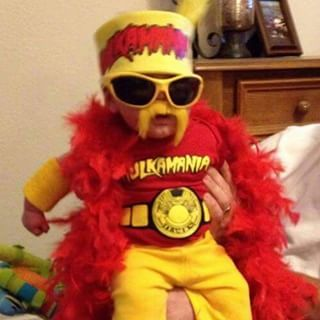 hulk hogan baby costume - Google Search