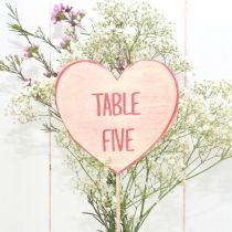 Love hearts wedding table numbers - Gifts & weddings