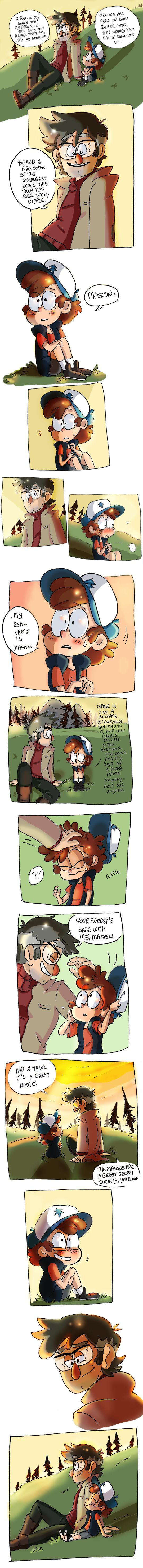 His real name (SPOILERS) by shadowpiratemonkey7 on DeviantArt<<< MY TWO NERDS. So proud.