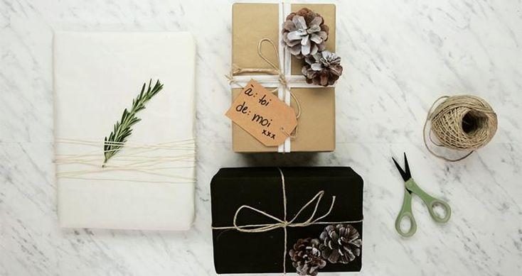 Emballages cadeaux de Noël originaux et faciles