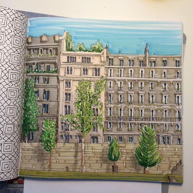 Secret Paris Colouring Book Perfumes By Michelle See More Consulta Esta Foto De Instagram Doodlesknit O 17 Me Gusta