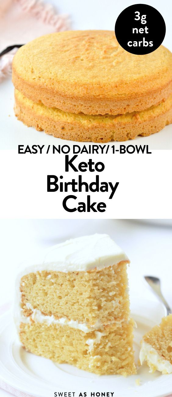 Keto Vanilla Cake Diabetic Birthday Cake Sweetashoney In 2020 Keto Dessert Recipes Keto Recipes Easy Low Carb Desserts
