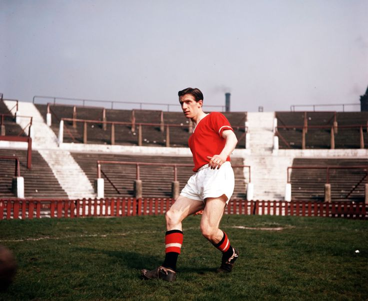 Dennis Viollet. Busby Babe. Munich Survivor. Manchester United Player.