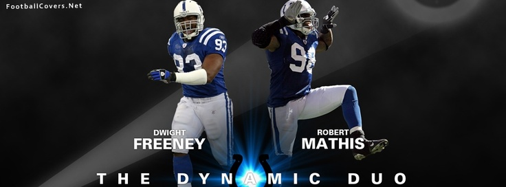 Dwight Freeney and Robert Mathis Indianapolis Colts FB Cover