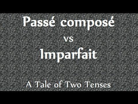 Passé composé vs Imparfait - French Video