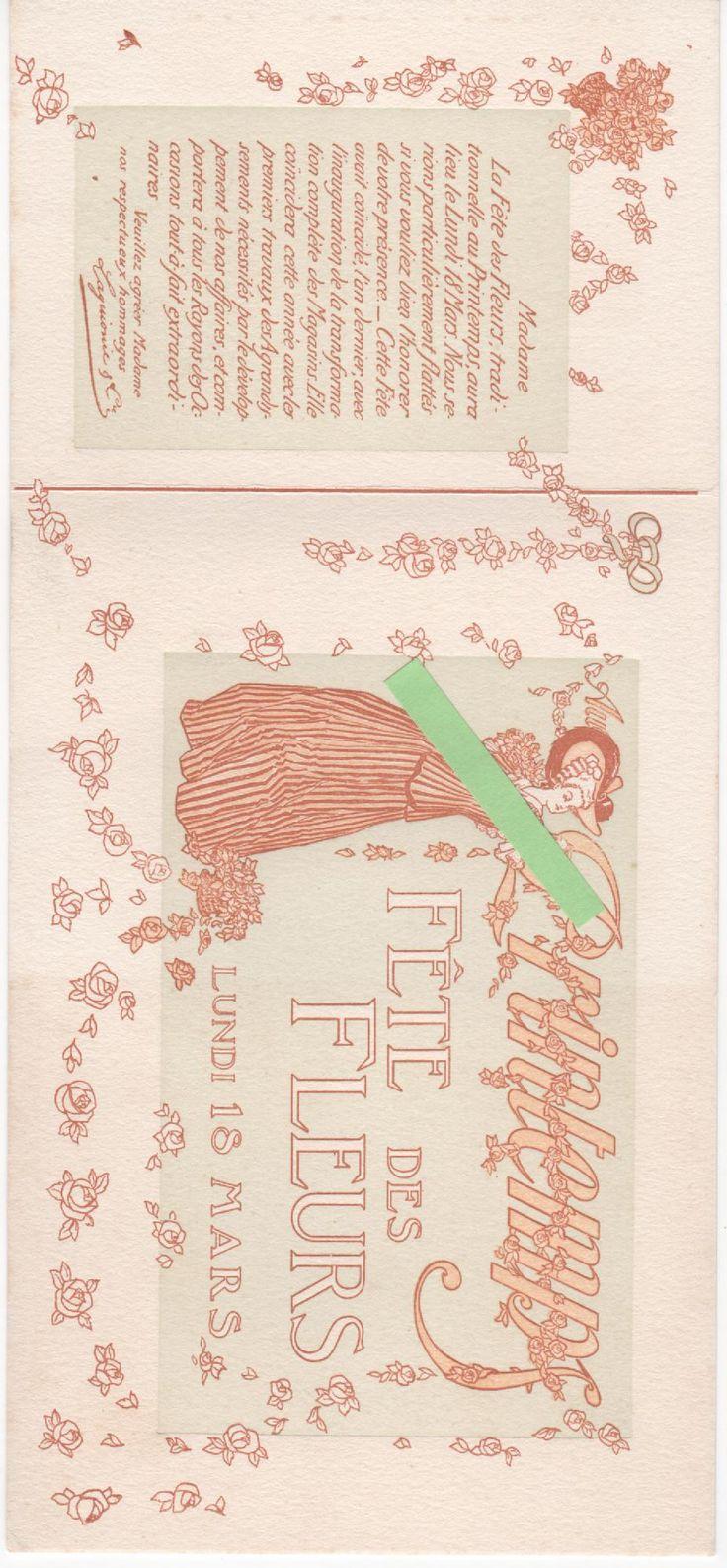 Magasins Printemps Paris 1900