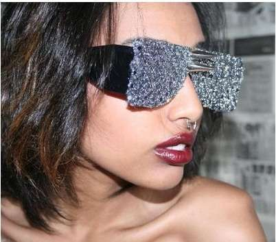 Mega Goggles: Super Duper Fly Sunglasses by Stevie Boi Look Like Lab Glasses