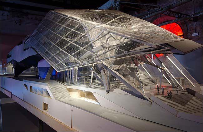 Coop Himmelb(l)au  Musée des Confluences  Lyon, France