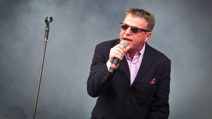 Suggs at V Festival 2012 at Weston Park and Hylands Park