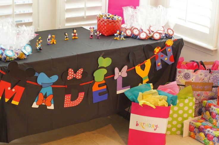 The Prospective WAHM: Mickey Mouse Clubhouse Birthday