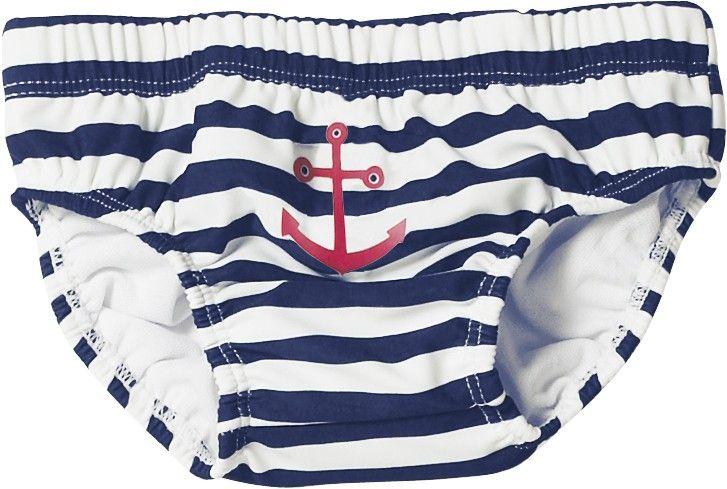 Baby's Secret Majtki kąpielowe na pieluchę Z Filtrem Uv Marynarz - Playshoes do -45 - stroje kąpielowe dla chłopców - Aktualne kampanie