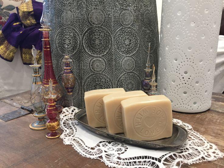Passionfruit Rose natural soap.