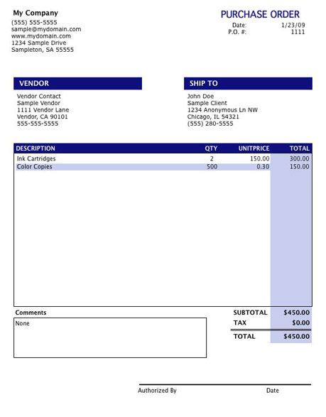 28 best images about purchase order – Po Template