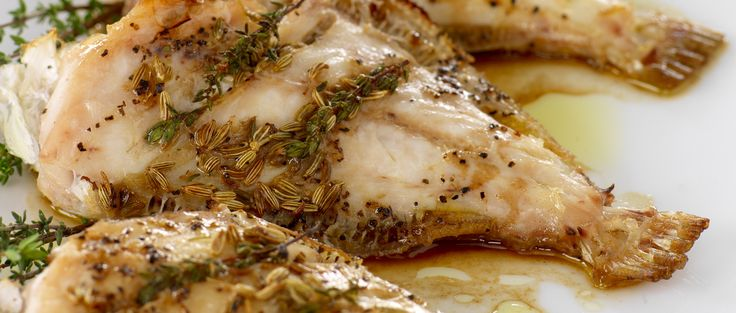 Grilled Leatherjacket with a spice rub