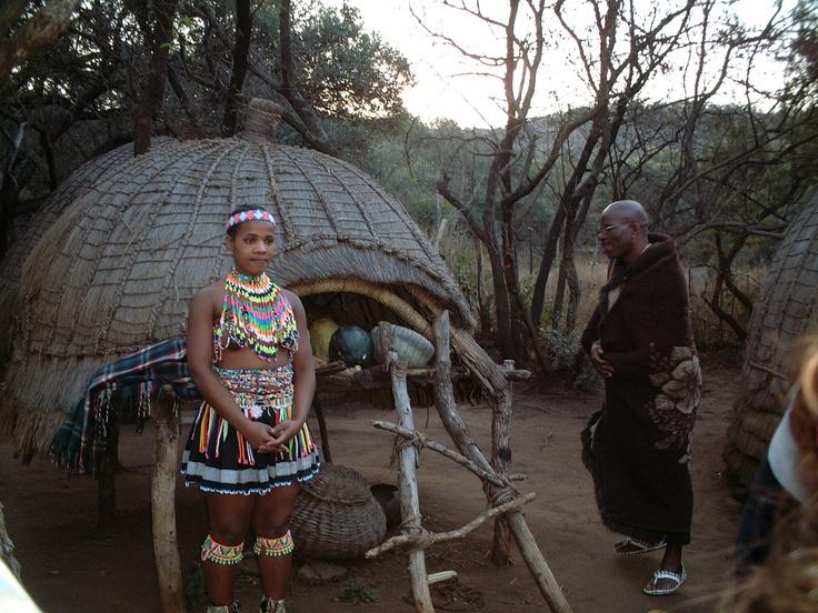 Lesedi Cultural Village (close to both Johannesburg and Pretoria). July, 2001