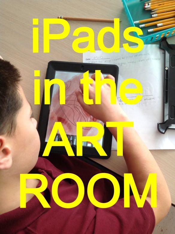 iPads in the Art Room!
